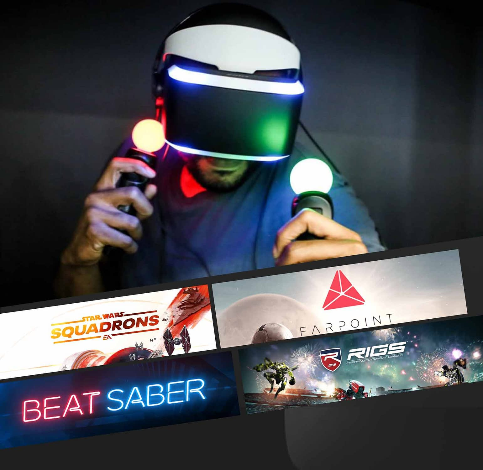 If you're not familiar with VR headsets, you might require a little assistance. Our well-trained expert rentals can help alleviate you of the stress if you feel you need help setting up the hardware.We can make renting the PlayStation VR easy. Permit our experts to see you through the process.