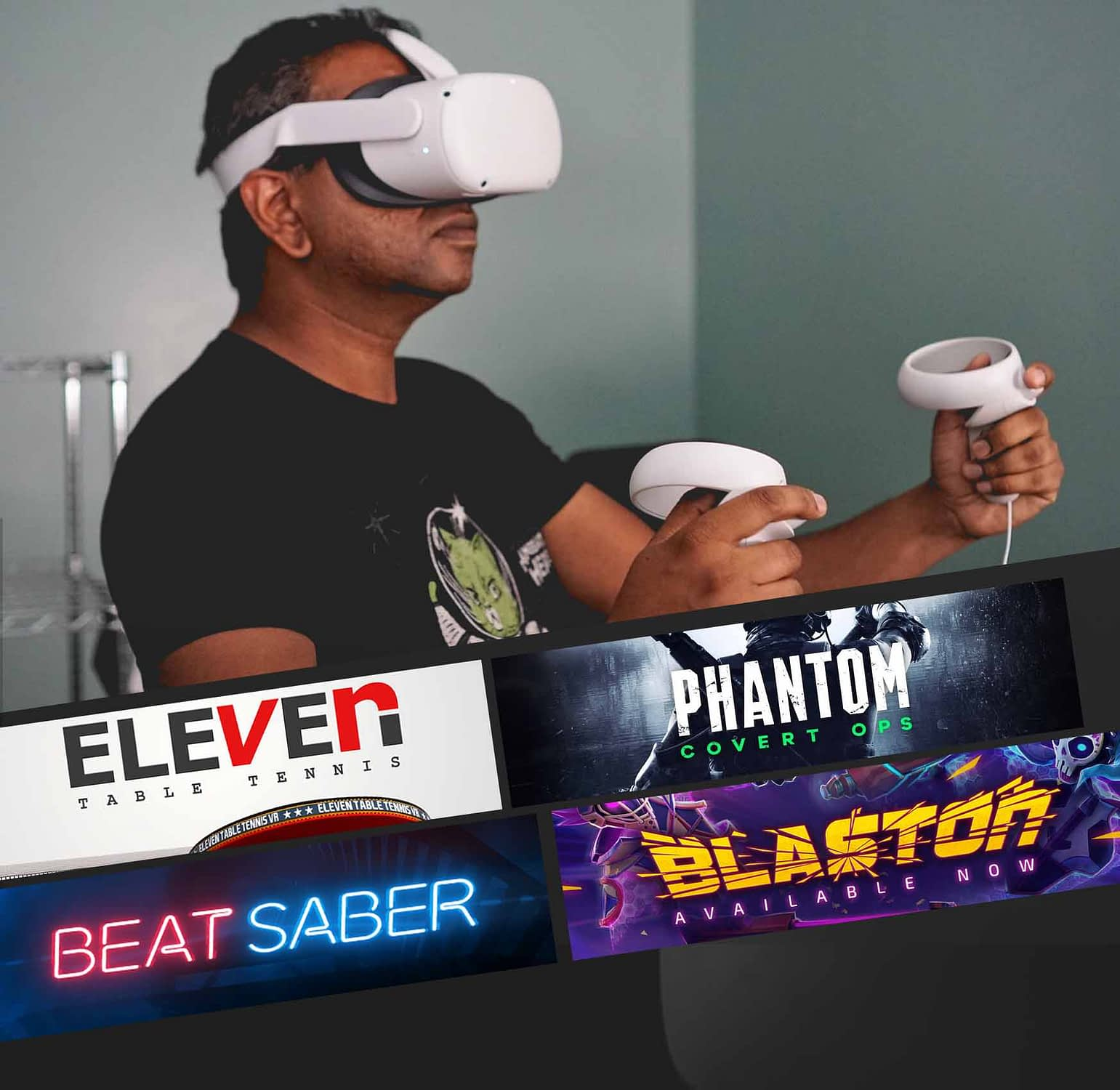If you're not familiar with VR headsets, you might require a little assistance. Our well-trained expert rentals can help alleviate your stress if you feel you need help setting up the hardware. We can make renting an Oculus Quest easy. Permit our experts to see you through the process.